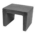 U-element 40x50x40 Zwart