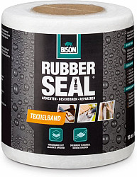 Bison Rubber Seal Textielband 10cmx10mtr