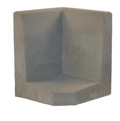 L-element 50x40/40x30 Grijs Hoek