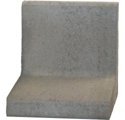 L-element 40x40x30 Grijs