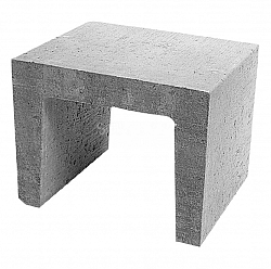 U-element 40x30x30 Grijs