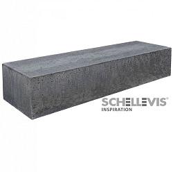 Schellevis Bank 200x60x40 Antraciet