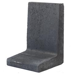 L-element 60x40x30 Zwart