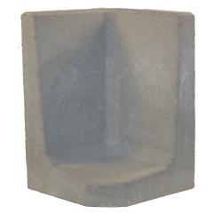 L-element 60x40/40x40 Grijs Hoek