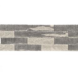 Splitblok 60x15x12 Grijs-Zwart 1 zijde gekloofd