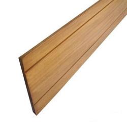 Plank Hardhout 365x14,5x1,6 geschaafd