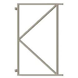 Stalen frame 100cm