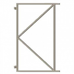 Stalen frame 140cm