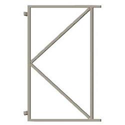 Stalen frame 200cm