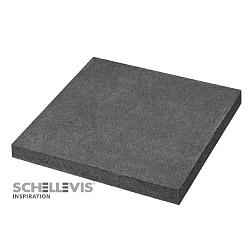 Schellevis 100x100x10 Antraciet