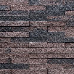 Wallblock Split 40x15x6 cm Brons