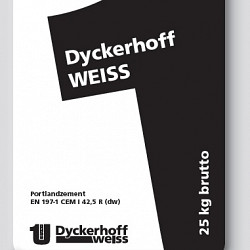 Witte cement 25kg Dyckerhof