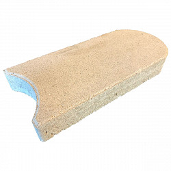 Gazonsteen Groot 5x33x16 Grijs