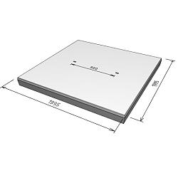 Stelcon 14cm N-plaat met vellingkant  2x2m
