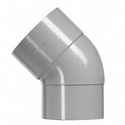 32 mm bocht 45° 1x lijmmof pvc