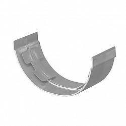 Goot 100 mm mast verbindingsstuk grijs