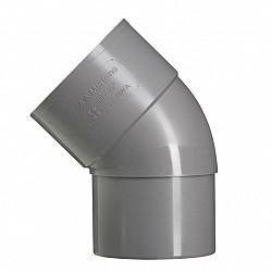 80 mm 45' bocht mof/verj.spie grijs hwa