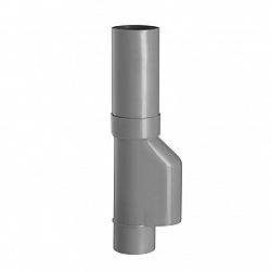 80 mm bladvanger/scheider grijs hwa