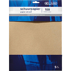 Schuurpapier Middel 5Vel Elma
