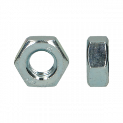 Moer M10 zeskant VZ Din934  p/100