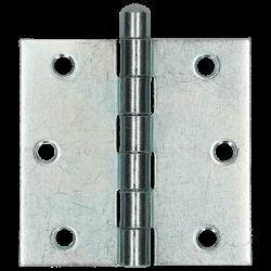 Gerolde knopscharnier 76x76 VZ  /st