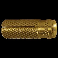 Messing plug M  6x24  /blis