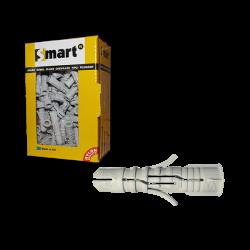 Plug smart nyl.   6x 30 grijs  /doos