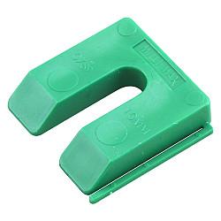 Uitvulplaatje  10mm groen    [/disp.=  40st.]