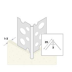 Dunpleister hoekbeschermer 270 cm
