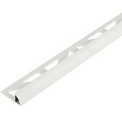Tegelstrip  PVC   6mm Kwartrond 270cm wit