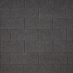 Daksingle zwart 33cm per 3m2