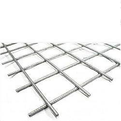 Gegalvaniseerd 4x50x50 bouwstaalmat 2x3mtr