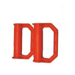 Kruiwagen Veiligheidshandgreep Rood Set