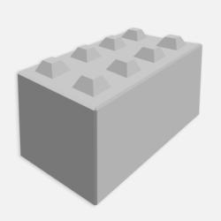 Stapelblok 160x80x80