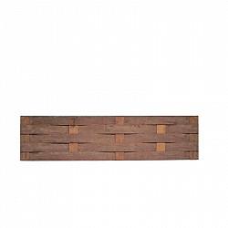 Beschoeingsmat Hardhout 50x200 cm
