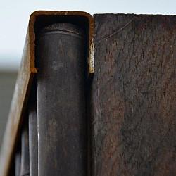 Bamboerol u-profiel 180cm verroest
