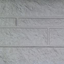 Betonplaat Rotsmotief 184x36x3,5 Wit 1zijdig