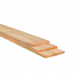 Plank 300x20x2,2cm Douglas Gezaagd