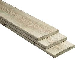 Plank 360x14x1,6cm Geïmpregneerd