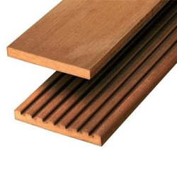 Vlonderplank 365x14,5x2,5 Hardhout