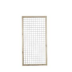 Draadscherm 90x180cm + houten frame