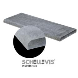 Schellevis Zwembadrand 100x40x5 Carbon