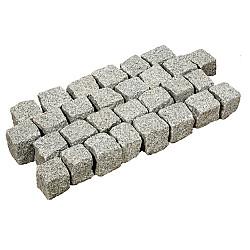 Kinderkop Portugees Graniet grijs 4-6cm