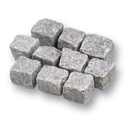 Kinderkop Portugees Graniet grijs 8-11cm