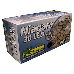 Waterval Niagara Rvs 30cm + Led