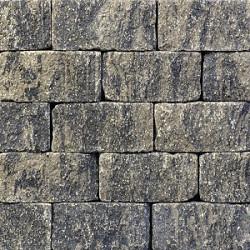 MBI Unostone 30x16,5x12,5 Grijs-Zwart