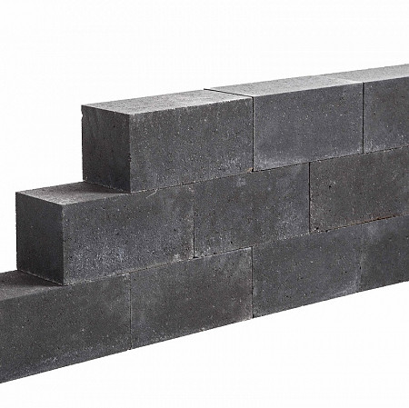 Patioblok Strak 45x15x15cm Antraciet