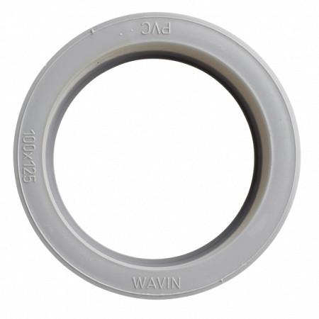 100 mmx125 mm inzetverloop hwa/rwa