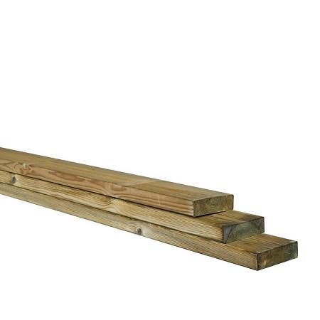 Afdeklat tbv betonsleuf schutting 4,5x12x420cm